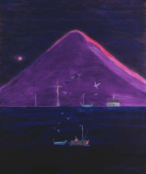 Goatfell (Isle of Arran), 1999-2000 (oil on canvas)