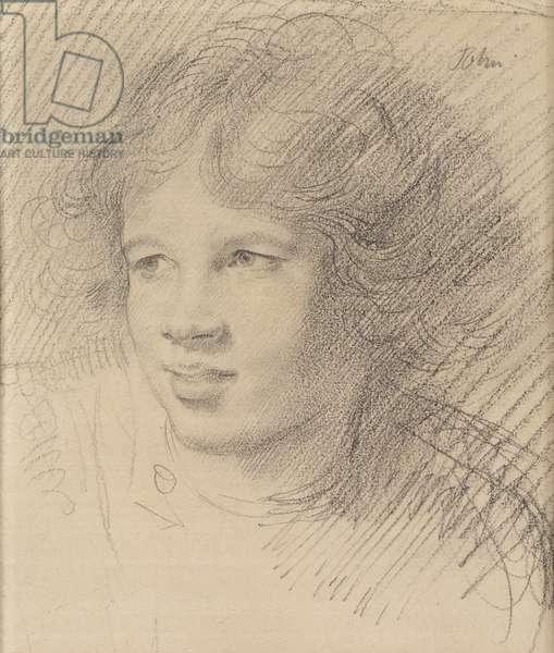 Ida Nettleship (pencil on paper)