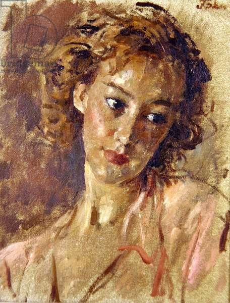 Vivien (oil on panel)