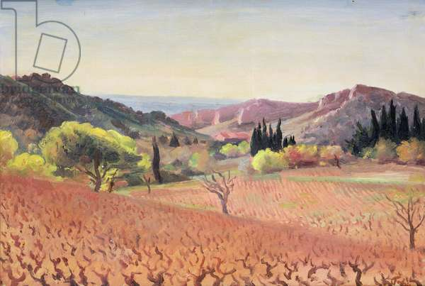 Roussillon (oil on canvas)