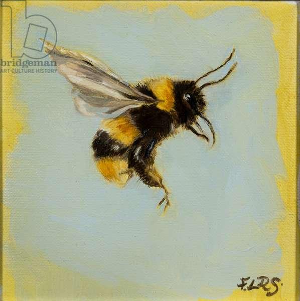 bee 1, oil on canvas, 2019