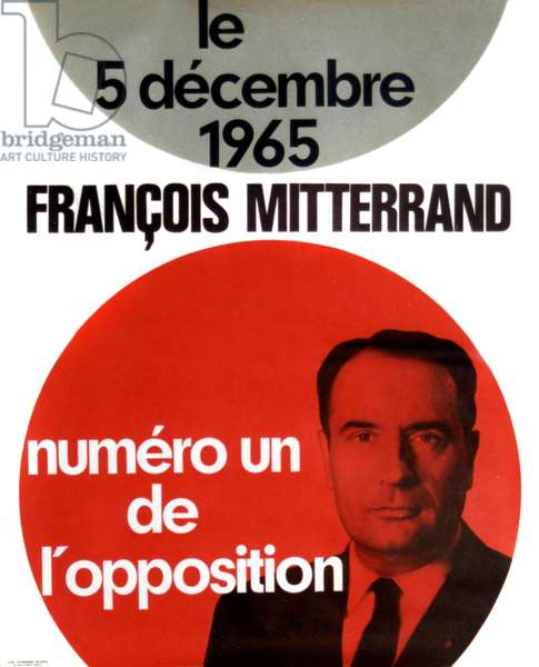 France Presidential election December 1965 Francois Mitterrand