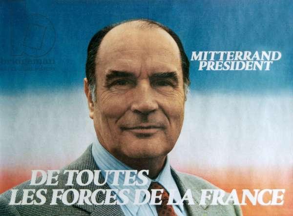 Francois Mitterand, 1981 (photo)