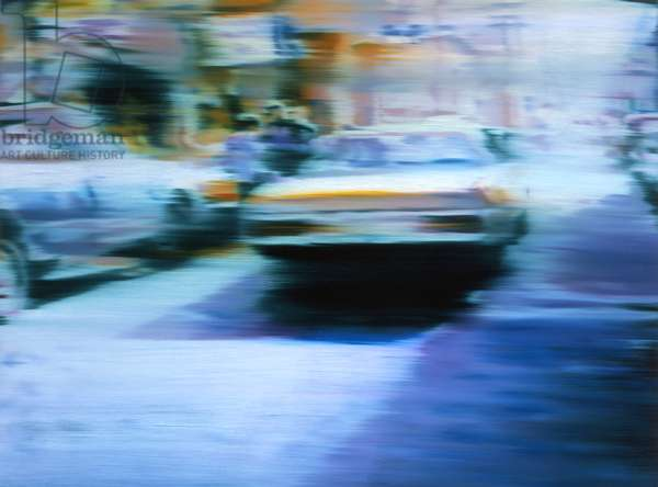 Purple Haze, 2004, (oil on linen)