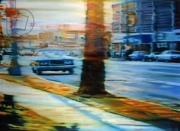 Long Shadows, 2004, (oil on linen)