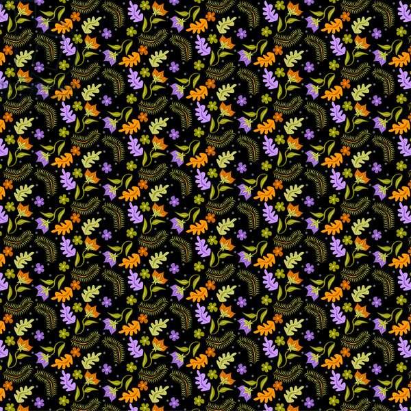 Night Leaves pattern