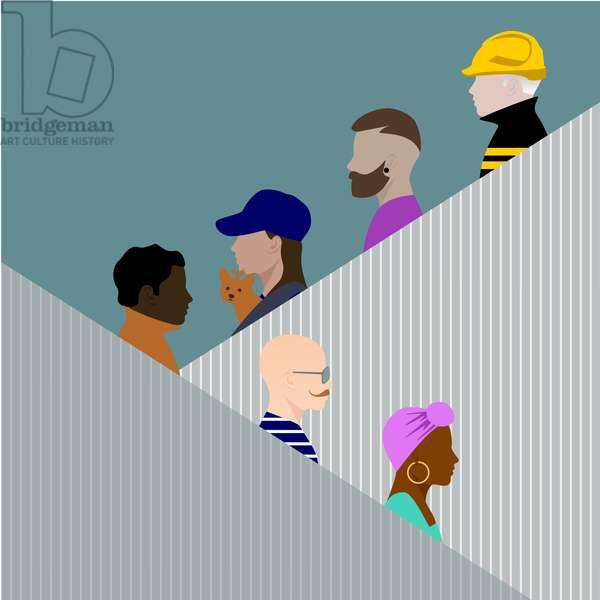 Escalator People