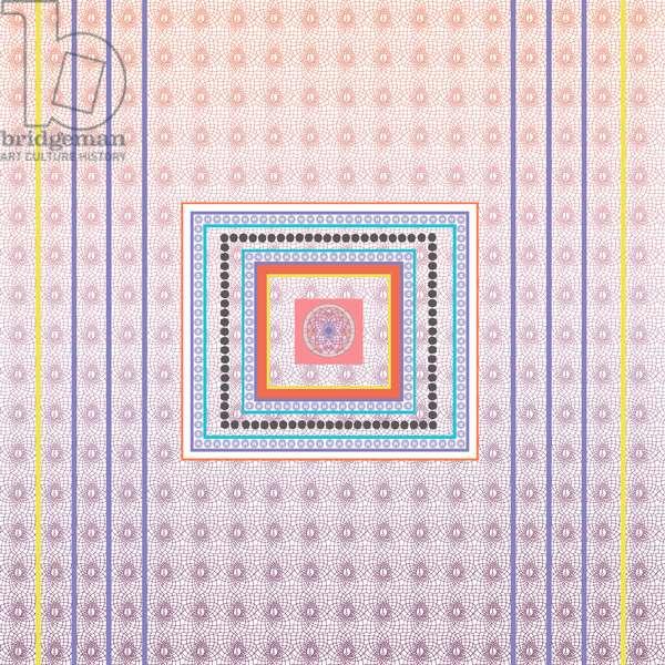 Tile Pink, 2014, (ink on paper)