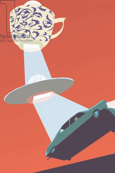 Flying Saucer, 2010, (mixed media)