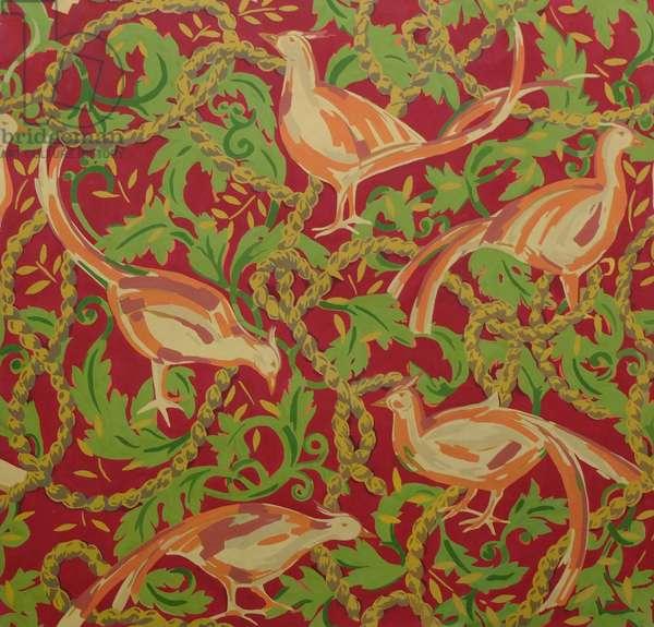 Fowl in a Tangle Design