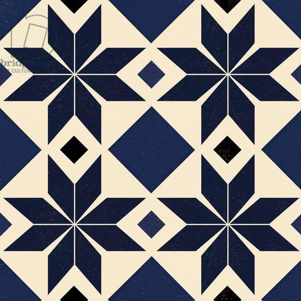 Blue Spanish tile, 2018, (digital)