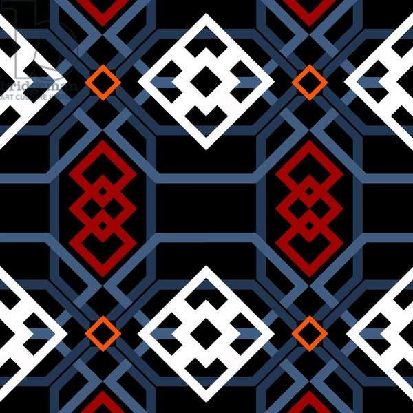 Andalucian geometric, 2018, digital