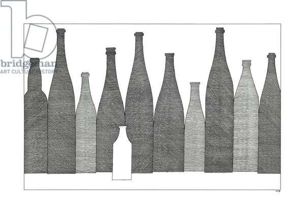 Bottles - Small White