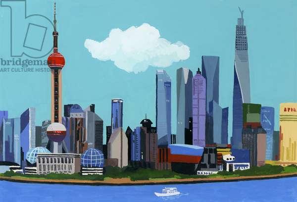 China, Shanghai、2016、