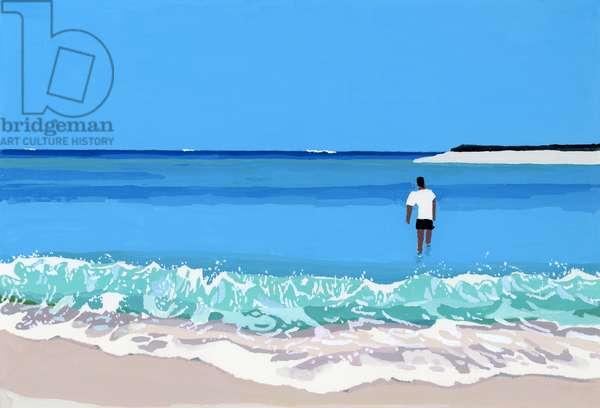 Sea and man, 2016,