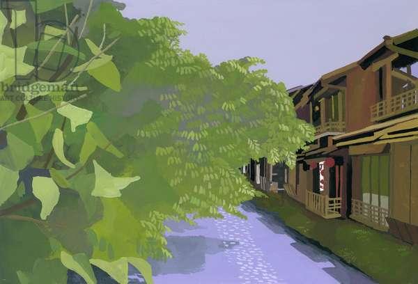 Kyoto Takase River,