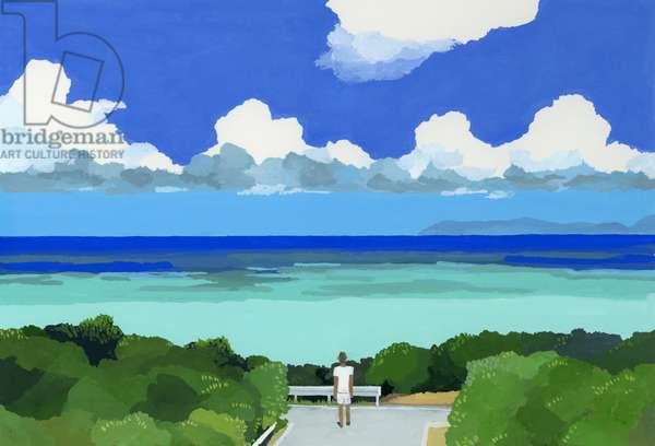 The sea of Okinawa,2016、