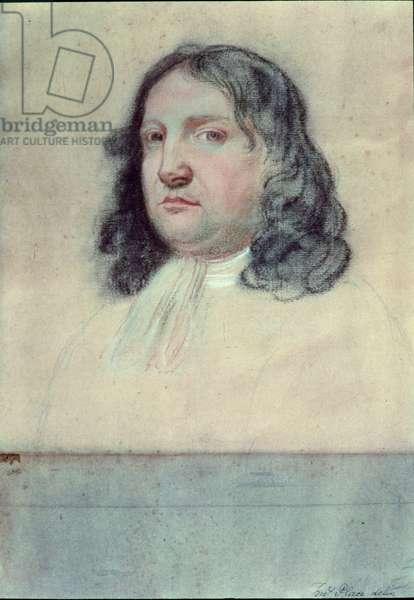 Portrait of William Penn (1644-1718) (pastel)