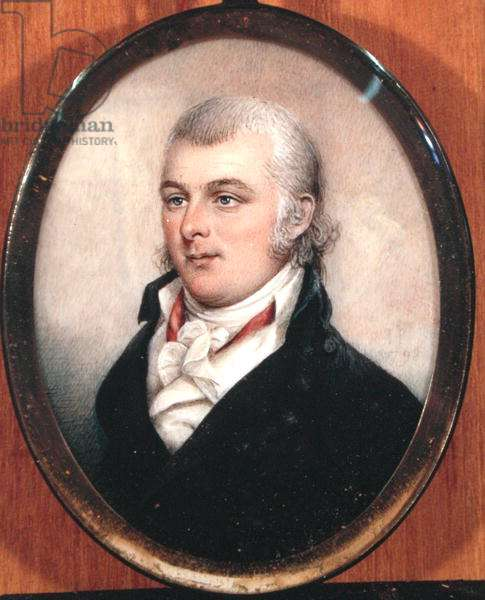 Portrait of Tench Francis (1731-1800) (oil on canvas)