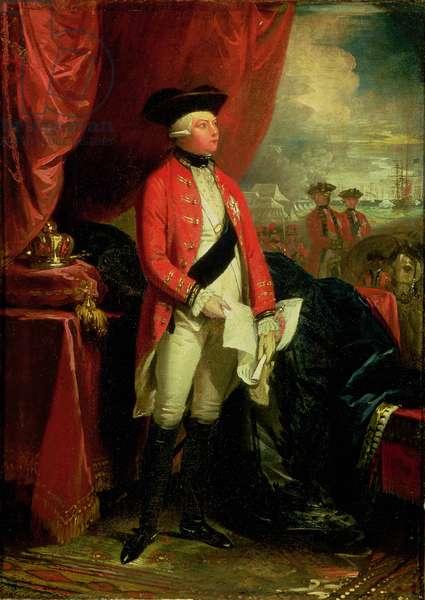 King George III (1738-1820) (oil on canvas)