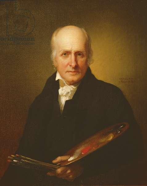 Charles Wilson Peale (1741-1827) (oil on canvas)