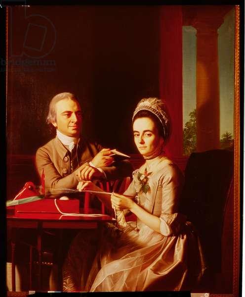 Mr and Mrs Thomas Mifflin, 1773 (oil on canvas)