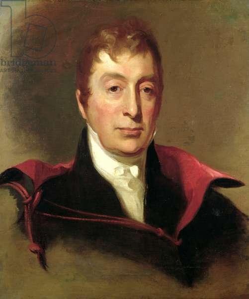 Portrait of Marie Joseph Paul Yves Roch Gilbert du Motier (1757-1834) Marquis de Lafayette (oil on canvas)