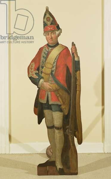 British Grenadier (oil on board)