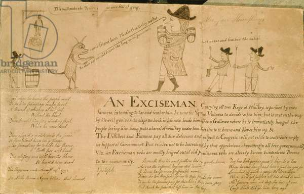 An Exciseman, c.1790 (drawing)