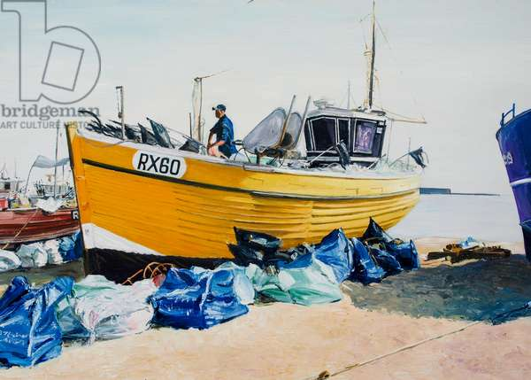 Fishing Boats on Hastings Beach