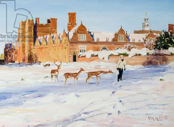 Knole House in the Winter