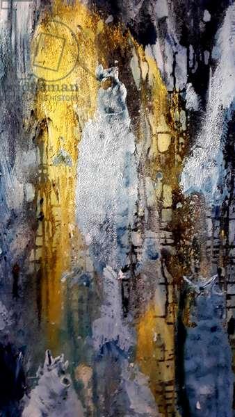 fish, epiphany, 2019, oils on canvas