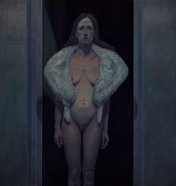 Frida, 2012 (oil on wood)