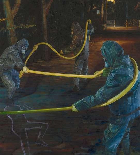 Pentagrass, 2006 (oil on canvas)