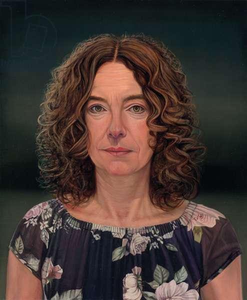 Kerstin (Italian), 2017 (oil on canvas)