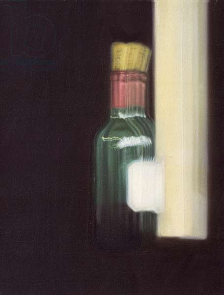 Seven Attempts against Tiredness, canvas 3 of 8, 1998-99 (oil on canvas)