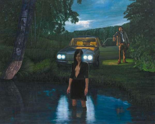 Bahren, 2007 (oil on canvas)