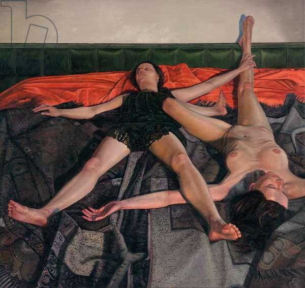 Hypokeimenon, 2017 (oil on canvas)