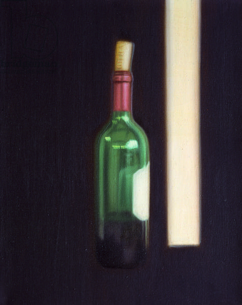Seven Attempts against Tiredness, canvas 6 of 8, 1998-99 (oil on canvas)