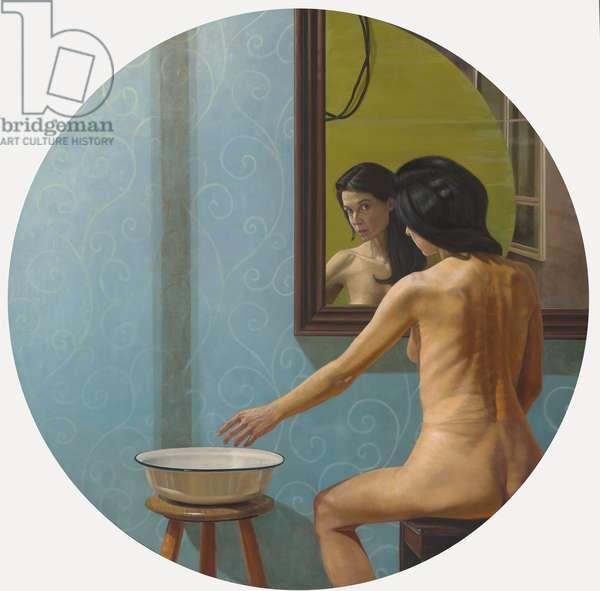 Psemata I, 2006 (oil on wood)
