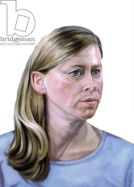 Frauenbilder (Portraits of women) 2003 (oil on canvas)