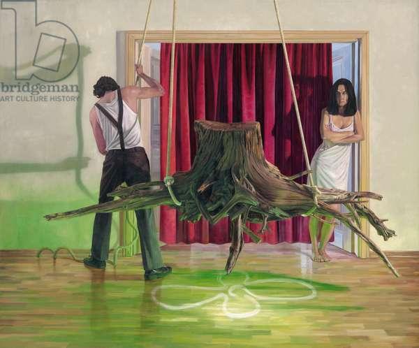 Das Ritual (The Ritual), 2008 (oil on canvas)
