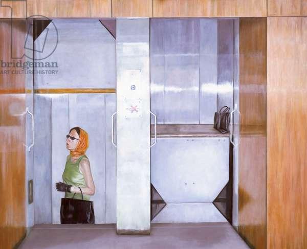 Arbogast, 2003 (oil on wood)