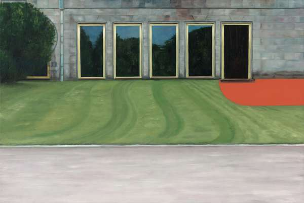 At the Opera, 2005 (oil on wood)