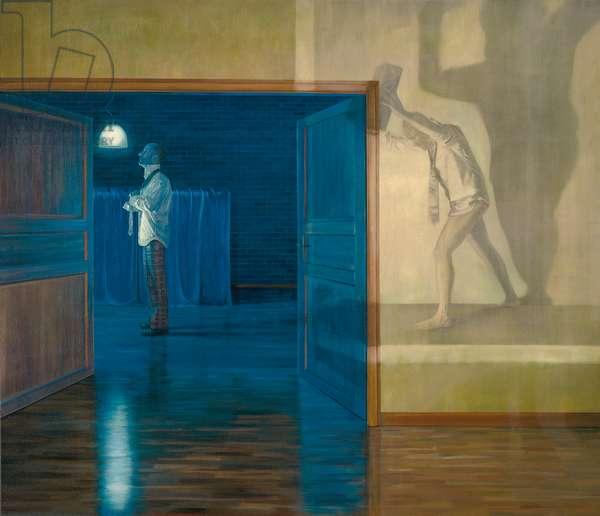 Der doppelte Mann (The double man), 2007 (oil on canvas)