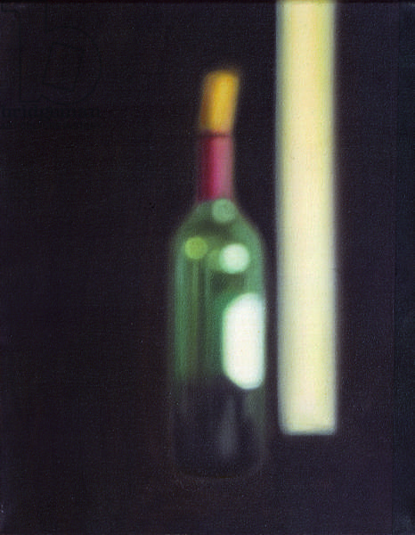 Seven Attempts against Tiredness, canvas 1 of 8, 1998-99 (oil on canvas)