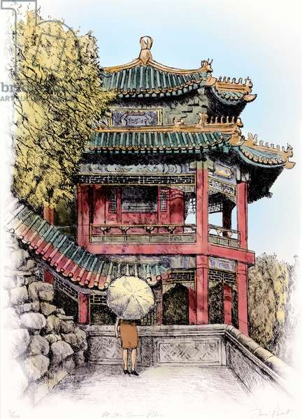At the Summer Palace, Beijing, 2011, (mixed media)