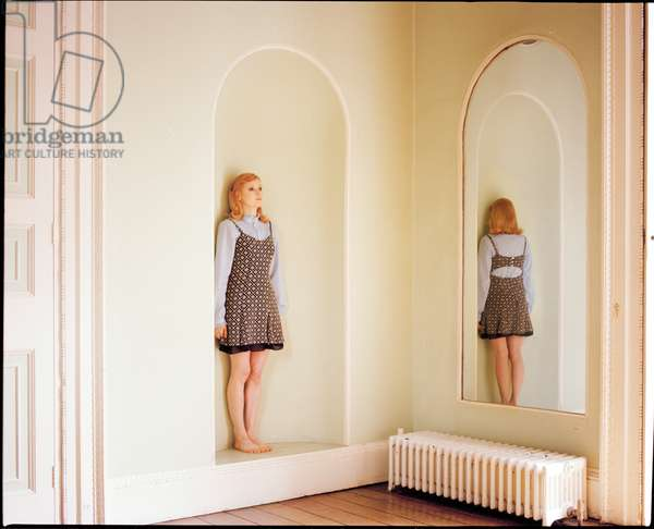 Emily in the Mirror, 2012, (photography)