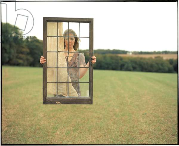 Emily and the Windowframe, 2012, (photography)