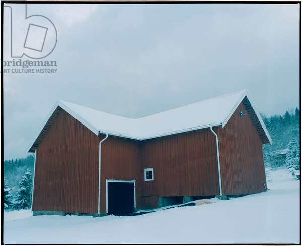 Body and the Barn - 3, 2017, (photography)